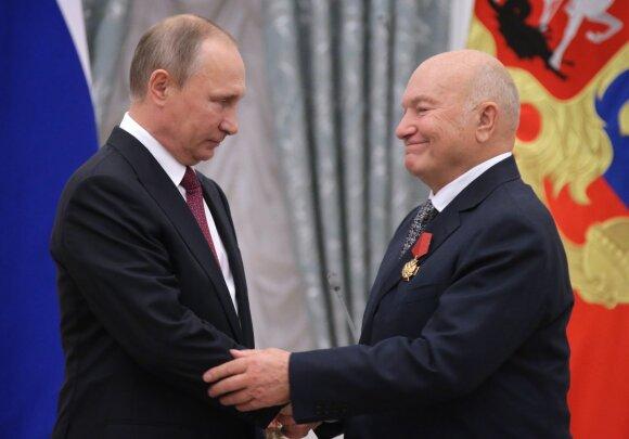 Vladimiras Putinas, Jurijus Lužkovas
