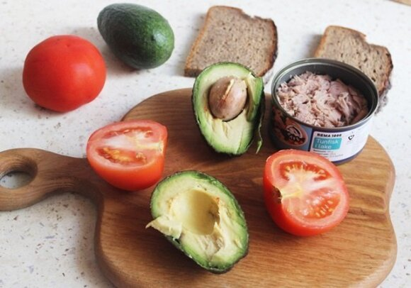Avokado ir tuno užtepėlė
