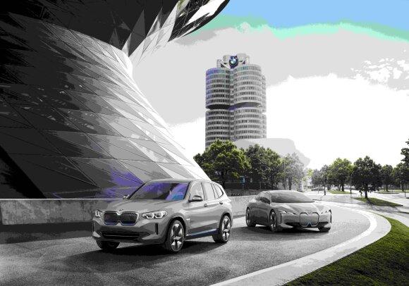 BMW iX3 ir BMW iNext