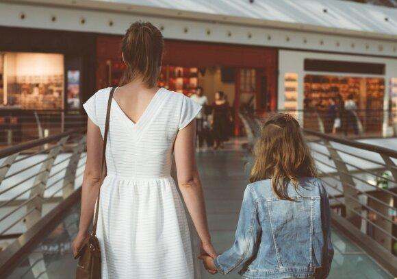 Ar vaikams vieta prekybos centruose: psichologės atsakymas patiks ne visiems