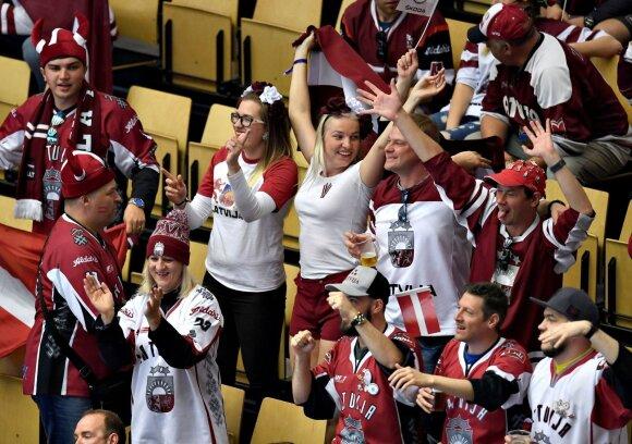Pasaulio ledo ritulio čempionate – fantastiška Latvijos rinktinės pergalė