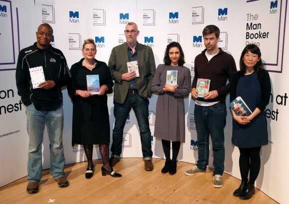 """The Man Booker Prize"" nominantai"