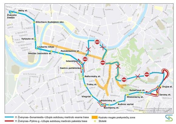 Sostinėje Kaziuko mugės metu – eismo ir viešojo transporto pakeitimai