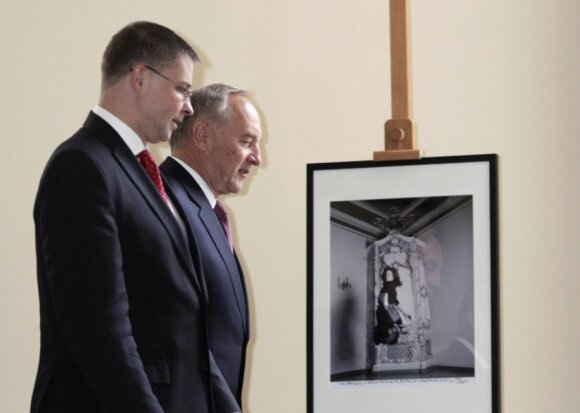 Andris Berzinis ir Valdis Dombrovskis