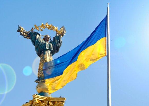 Ukrainos Nepriklausomybės paminklas Kijeve