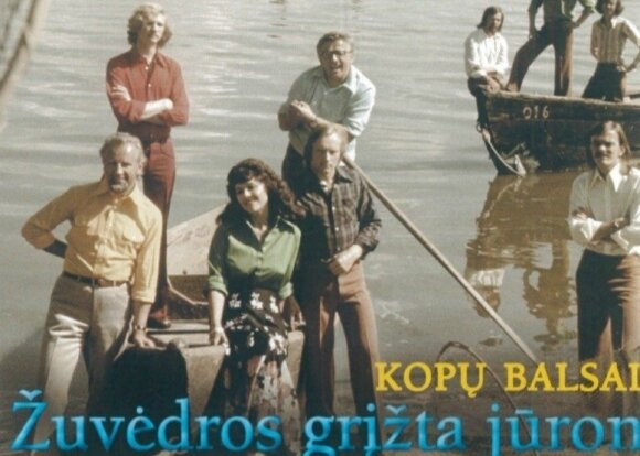 "Edmundas Kučinskas ansamblyje ""Kopų balsai"""