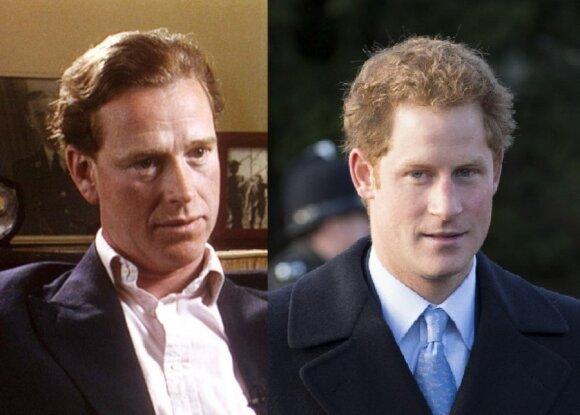 Jamesas Hewittas ir princas Harry