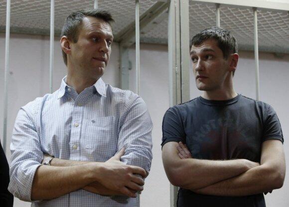 Alexey and Oleg Navalny