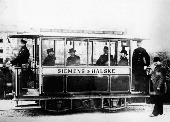 Elektrinė miesto transporto priemonė (1881 m., Berlynas)