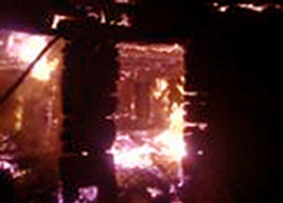 Prie Maskvos sudegė psichiatrinė ligoninė