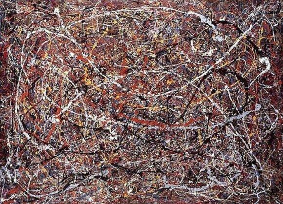 J. Pollocko paveikslas