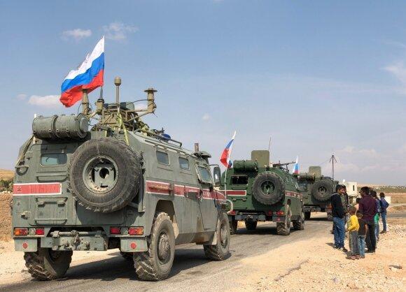 Rusijos karo policija Kobanėje
