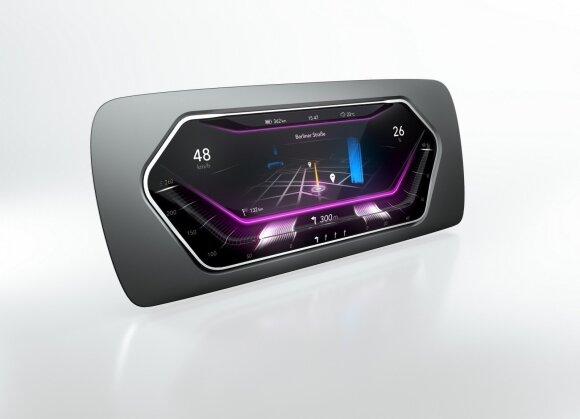 Trimačio paviršiaus ekranai siūlo naujas skydelių galimybes