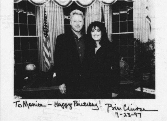 Monica Lewinsky, Billas Clintonas