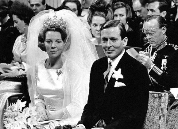 Karalienė Beatričė ir Princas Clausas