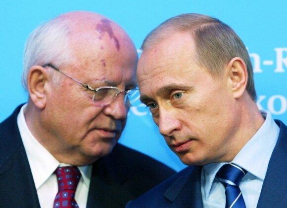 Michailas Gorbačiovas, Vladimiras Putinas