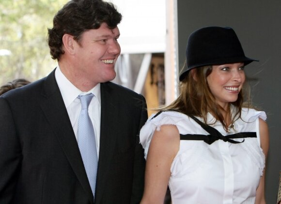 James Packer ir Erica Baxter