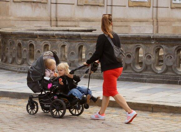 Vaikai Danijoje