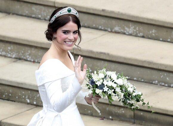 Princesės Eugenie vestuvių ceremonija