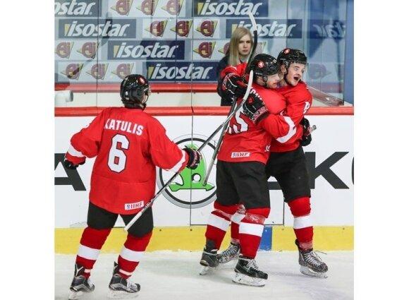 Lietuvos ledo ritulio rinktinė (IIHF nuotr.)