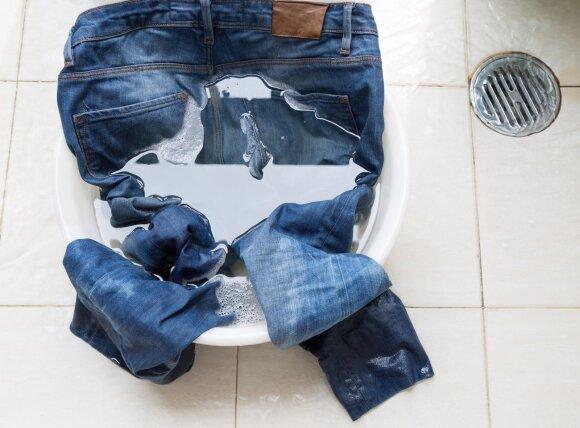 Džinsų plovimas