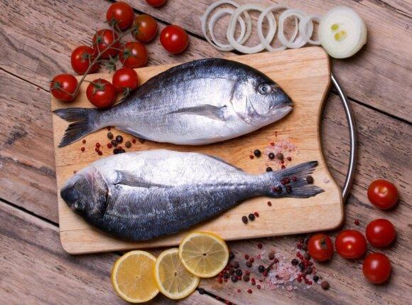 Kokia žuvis patiekiama restoranuose?