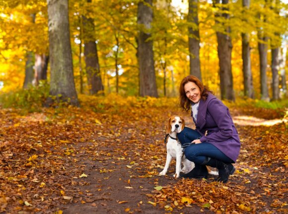 Laiminga moteris, ruduo