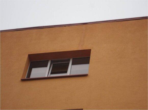 Kai skarda per mažai nutolusi nuo namo sienos, ji drėksta / BETA nuotr.