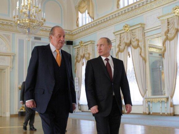 Juanas Carlosas, Vladimiras Putinas