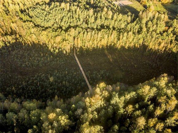 Naujas turistų taikinys Lietuvoje – ypatingo grožio pažintinis takas