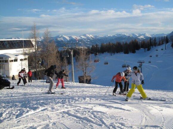 Štyrijos regionas Austrijoje siūlo visus slidinėjimo džiaugsmus... net patiems išrankiausiems!