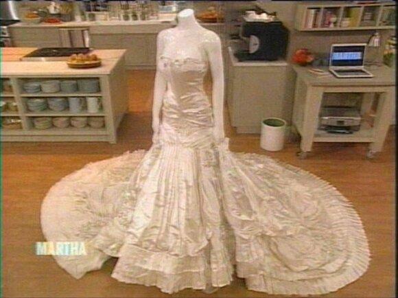 Melanios Trump vestuvinė suknelė