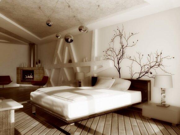 Kaip nebrangiai atnaujinti miegamąjį