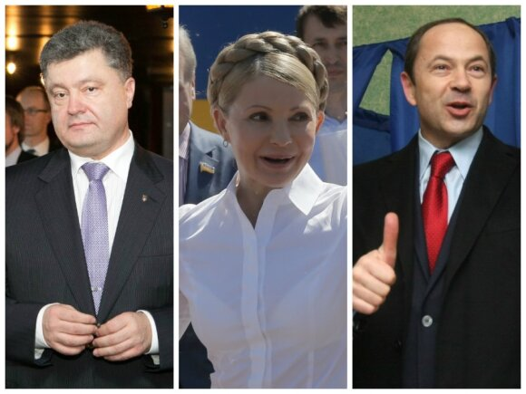 Petro Porošenko, Julija Tymošenko, Serhijus Tihipko