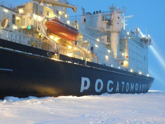 Rusijos atominis ledlaužis