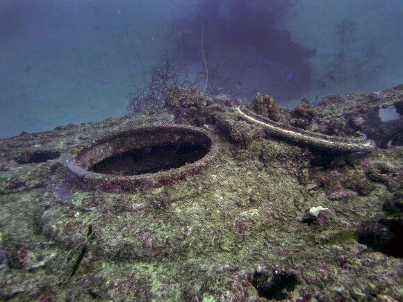 Nuskendęs povandeninis laivas