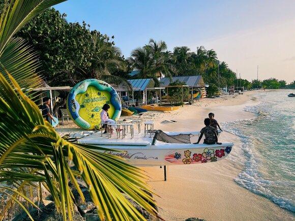 Atostogos Maldyvuose gali kainuoti net pigiau nei Palangoje: parodė, kaip tai atrodys