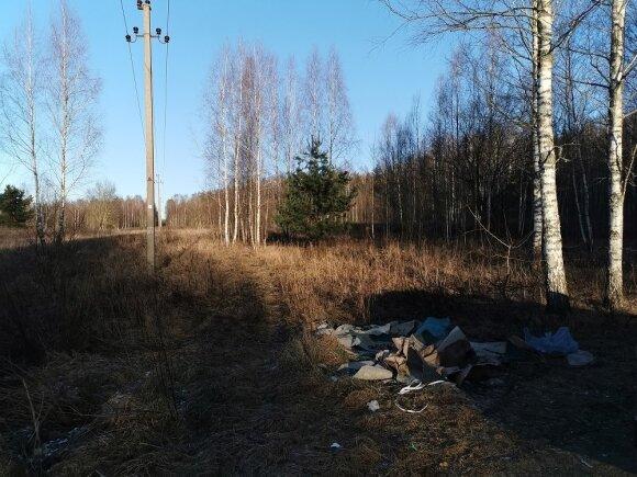 Pavilnių regioniniame parke surinktos atliekos