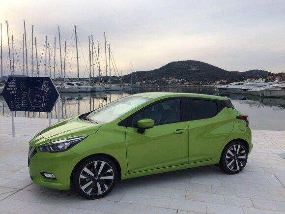 """Nissan Micra"" žurnalistams pristatyta Kroatijoje"