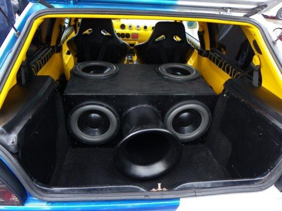 Automobilių garso sistemų varžybos