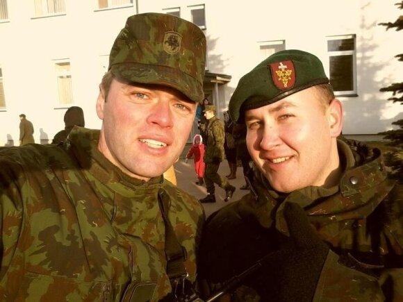 Ignas Krupavičius prisiekė kario priesaiką