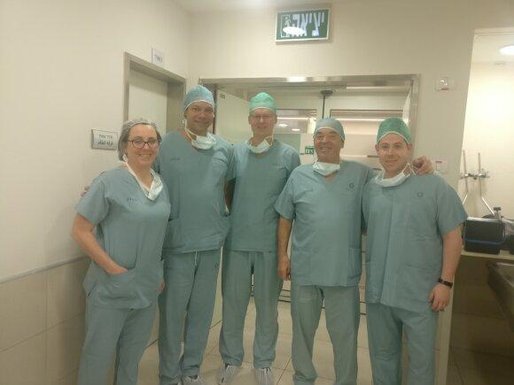 Stažuotė Izraelio Haifos miesto ligoninėje