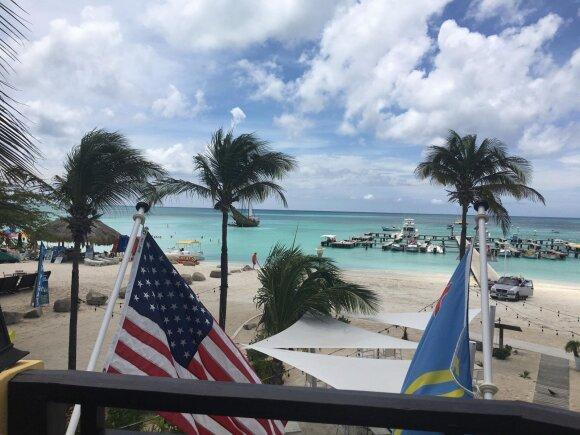 Augustės ir Lauryno antroji vasara JAV ir Arubos sala
