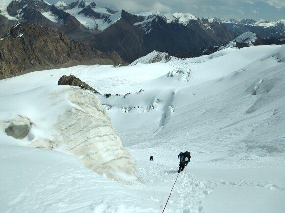 Alpinistas – apie tai, kodėl neitų į žygį be išmaniųjų technologijų ir kurios kalnų vietos yra pavojingiausios
