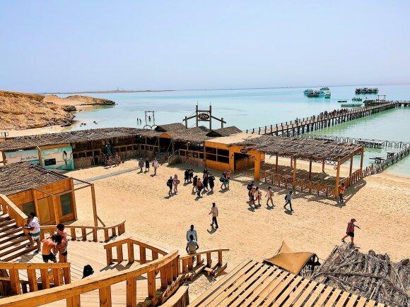 Egipte atostogaujantys tautiečiai dėl šios vietos eina iš proto: čia darytos nuotraukos kelia pavydą likusiems Lietuvoje