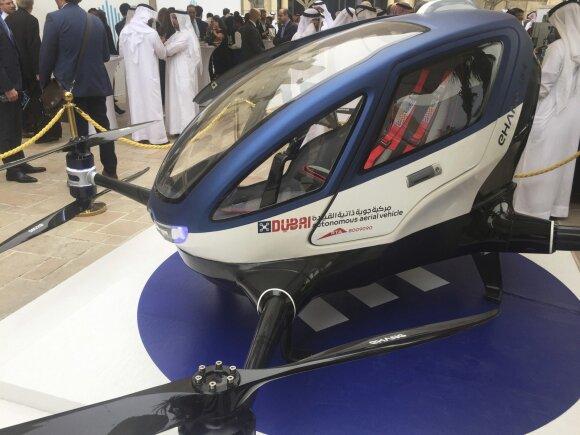dronas taksi