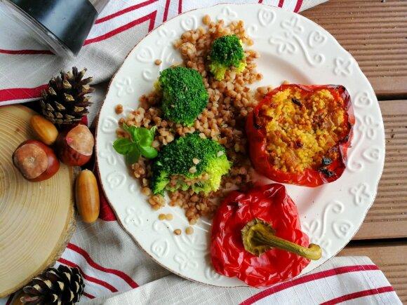 Įdarytos paprikos – vakarienė, kuri visada pavyksta