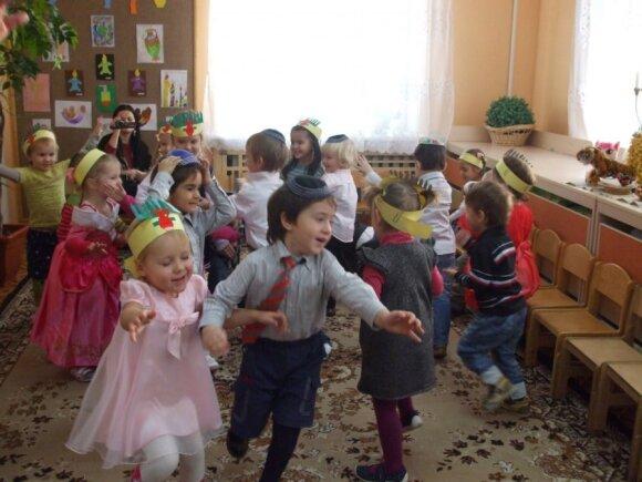 Ypatingas darželis Vilniuje, į kurį niekada neateina Kalėdų Senelis