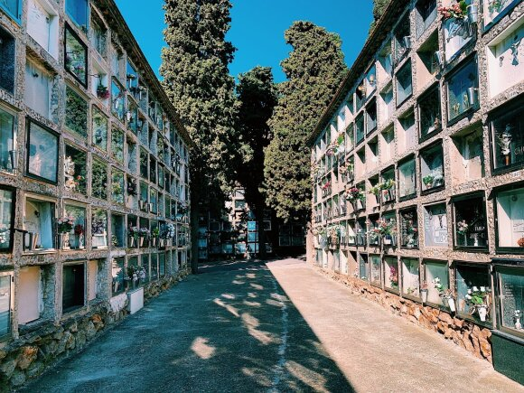 Lietuvis apsilankė įspūdingame mirusiųjų mieste: net ir po mirties žmonės varžosi, kuris buvo turtingesnis