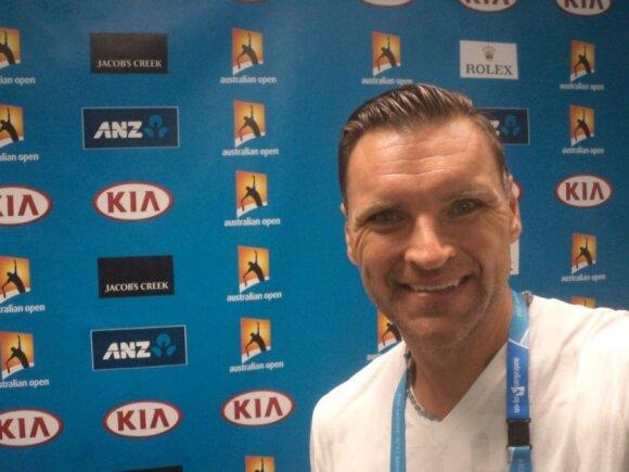 "Ž. Grigaitis apžvelgia ""Australian Open 2015"" teniso turnyrą"